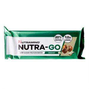 Nutra-Go, Protein Wafer- Hazelnut x12