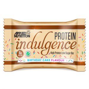 Protein Indulgence Bar 50G Birthday Cake X 12 Units