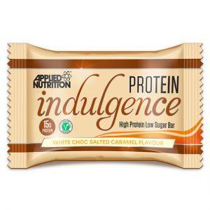 Protein Indulgence Bar 50G White Choc Salted Caramel X 12 Units