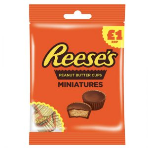 Reese's Miniatures Pouch 72g £1 PMP
