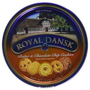 Royal Dansk Butter & Choc Cookies 6 x 340g