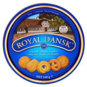 Royal Dansk Danish Butter cookies 6 x 340g