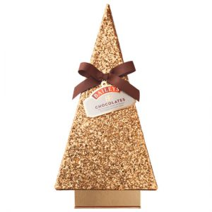 Seasonal Baileys Golden Christmas Tree 350G