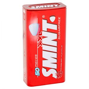 Smint XXL Strawberry 50pc Sugar Free 35g Tin