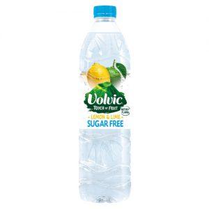 Volvic Touch Of Fruit Lemon & Lime Sugar Free 1.5L x 6