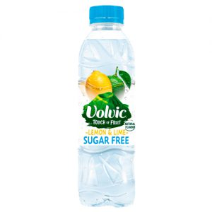 Volvic Touch Of Fruit Lemon and Lime Sugar Free 50cl x12