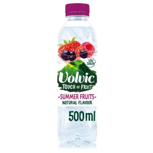 Volvic Touch Of Fruit Summer Fruits Sugar Free 50cl x12